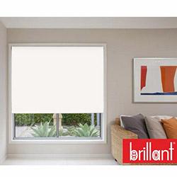 Brillant 782241 Stor Perde (Beyaz) - 200x200 cm