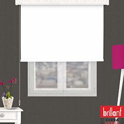 Brillant 782290 Stor Perde (Beyaz) - 100x260 cm