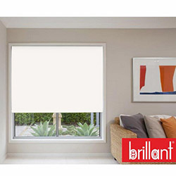 Brillant 782332 Stor Perde (Beyaz) - 160x260 cm