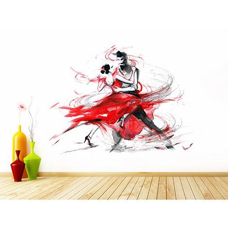Resim  Artmodel Tango Dans Poster Duvar Kağıdı - 390x270 cm