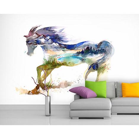 Artmodel At Resmi Poster Duvar Kağıdı - 390x270 cm