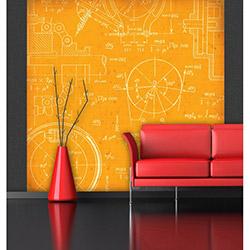 Artmodel Matematik Duvar Kağıdı - 270x270 cm