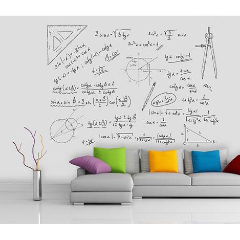Resim  Artmodel Matematik Duvar Kağıdı - 390x270 cm