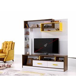 Alpino Toronto Tv Ünitesi - Beyaz / Venezia / Sarı