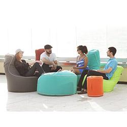 Hip Chik Chairs Klasik Armut Koltuk - Mavi