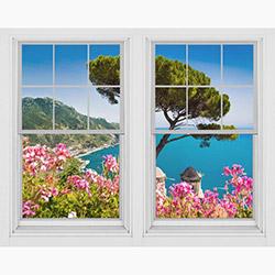 Dekorjinal PNC044 Pencere Sticker - 100x80 cm