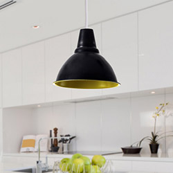 Safir Light Modern Blitz Tekli Sarkıt - Siyah / Fıstık Yeşil