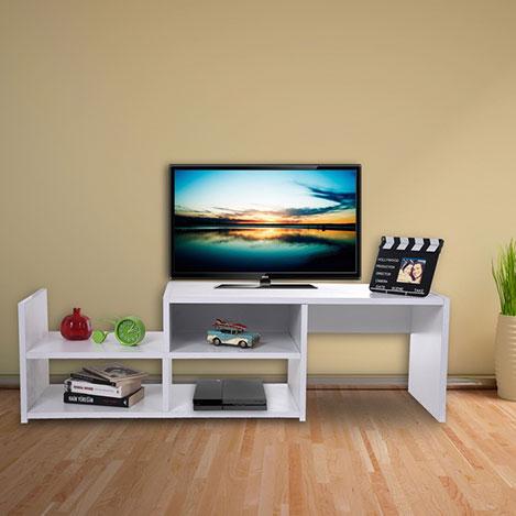 House Line Tv Sehpası - Beyaz
