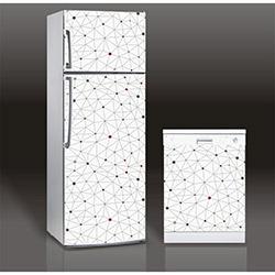 Supersticx MAC1 Buzdolabı & Bulaşık Makinesi Sticker