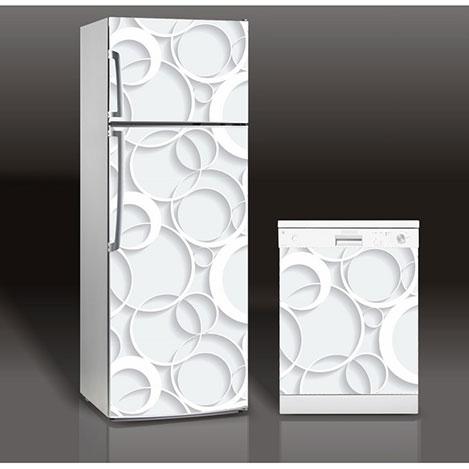 Supersticx MAC19 Buzdolabı & Bulaşık Makinesi Sticker