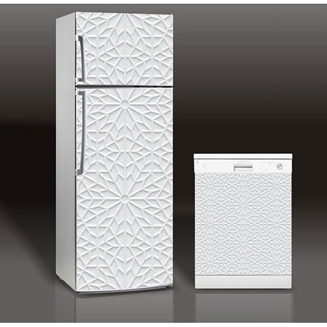 Supersticx MAC33 Buzdolabı & Bulaşık Makinesi Sticker