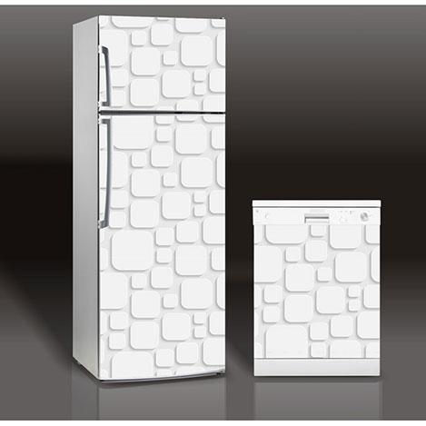 Supersticx MAC37 Buzdolabı & Bulaşık Makinesi Sticker