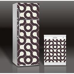Supersticx MAC59 Buzdolabı & Bulaşık Makinesi Sticker
