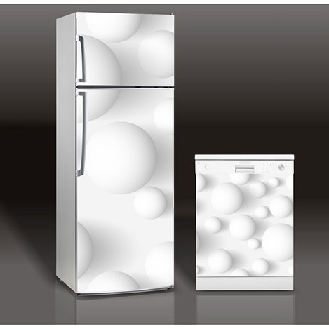 Supersticx MAC74 Buzdolabı & Bulaşık Makinesi Sticker