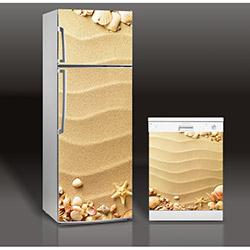Supersticx MAC77 Buzdolabı & Bulaşık Makinesi Sticker
