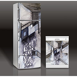 Supersticx MAC94 Buzdolabı & Bulaşık Makinesi Sticker