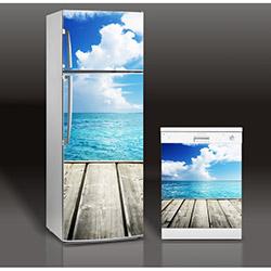 Supersticx MAC109 Buzdolabı & Bulaşık Makinesi Sticker