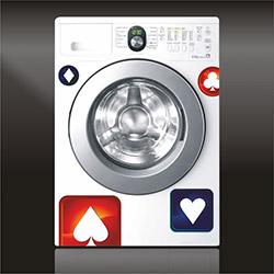 Supersticx CAMS38 Çamaşır Makinesi Sticker
