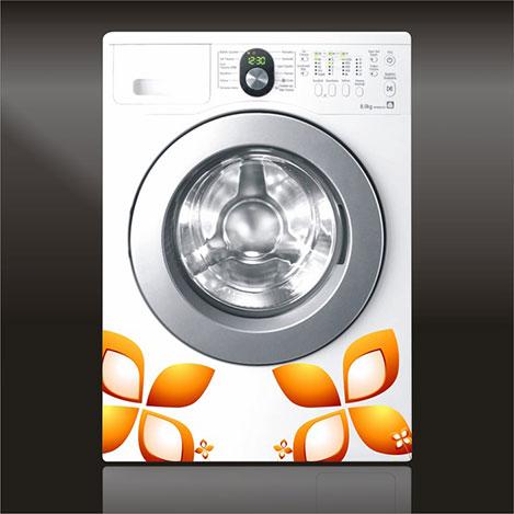 Supersticx CAMS61 Çamaşır Makinesi Sticker