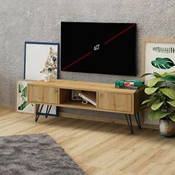 Fly Tv Sehpası - Safir Meşe