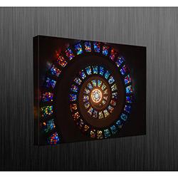Duvar Tasarım DLC6053 Led Işıklı Kanvas Tablo - 60x40 cm