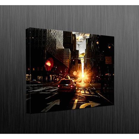 Duvar Tasarım DLC6055 Led Işıklı Kanvas Tablo - 60x40 cm