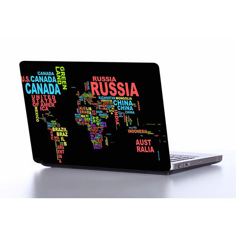 Supersticx NOTE205 Laptop Sticker - 37x26 cm
