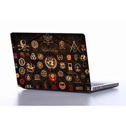 Supersticx NOTE213 Laptop Sticker - 37x26 cm