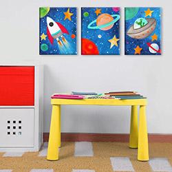 Modüler Mini Çocuk Masası - Sarı