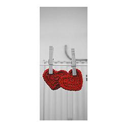 Artikel BS-035 Asılı Kalpler Buzdolabı Sticker - 70x180 cm