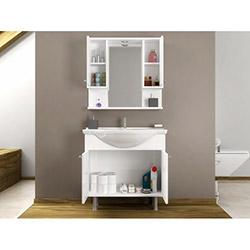 House Line Vira 80 Banyo Dolabı - Beyaz