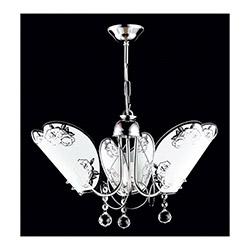 Safir Light İmren 3'lü Avize - Gümüş