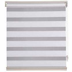 Platin Plise Zebra Perde (Beyaz) - 60x200 cm