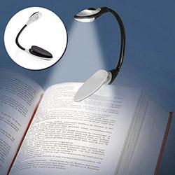 Buffer V66YT3041 Mandallı Bükülebilir Kitap Okuma Işığı - Asorti