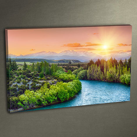 Duvar Tasarım DLC 3003 Ledli Kanvas Tablo - 50x70 cm
