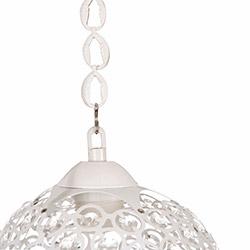Safir Light Mercan Tekli Sarkıt - Beyaz