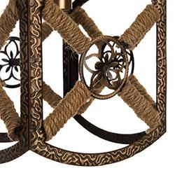 Safir Light Zirve Tekli Sarkıt - Eskitme