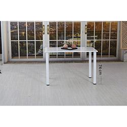 House Line Irmak Masa - Beyaz