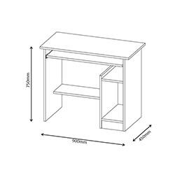 Abre VM-641 Çalışma Masası - Beyaz