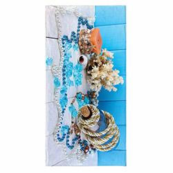 Ecemre ECM-075-104 3D Plaj Havlusu - 80x150 cm