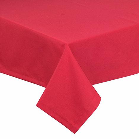 Resim  Aliz Fay Masa Örtüsü (Kırmızı) - 160x120 cm