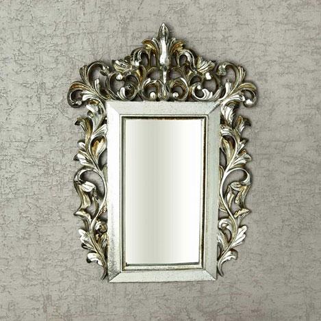 Vitale Fransız Stil Ayna - Gri