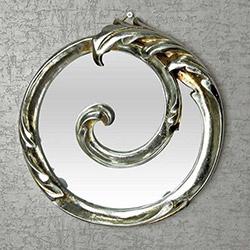 Vitale Sonsuzluk Ayna - Gümüş