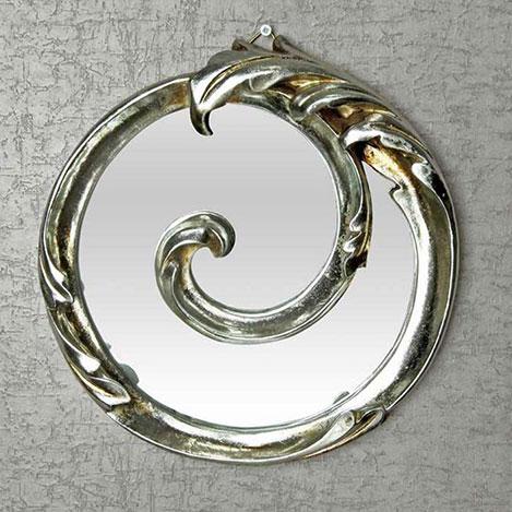 Resim  Vitale Sonsuzluk Ayna - Gümüş