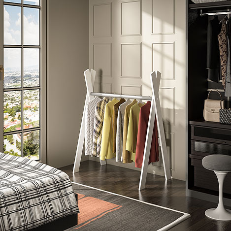 Resim  House Line Kelebek Elbise Askılığı - Beyaz