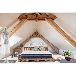 Therapy Bedding Navy Visco Yatak - (150x200 cm)