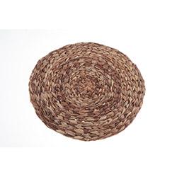 Kanca Ev Hasır Yuvarlak Amerikan Servis (Kahverengi) - 38,5 cm