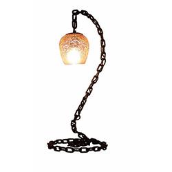 Adalinhome AD3426 Rustik Retro Masa Lambası - Siyah