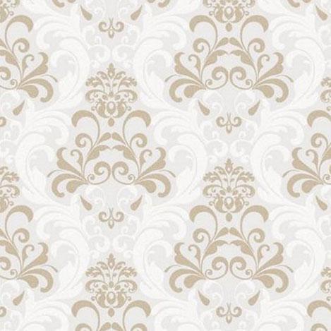 Golden Forever 14910 Kabartmalı Damask Model Duvar Kağıdı (5 m²)