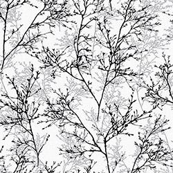 Dekor 160d Çiçekli Duvar Kağıdı (5 m²)
